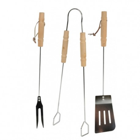SET 3 UTENSILI X BARBECUE A.92101 EDCO